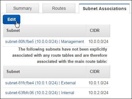 Amazon Web Services: Three-NIC BIG-IP VE