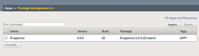 Downloading and installing the AS3 package