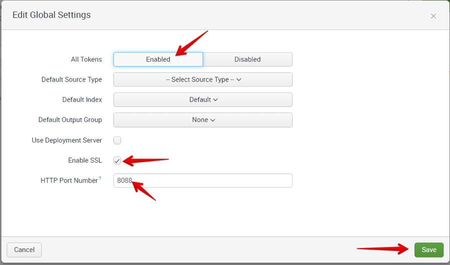 Lab 1: Configuring Splunk to use the F5 Splunk app