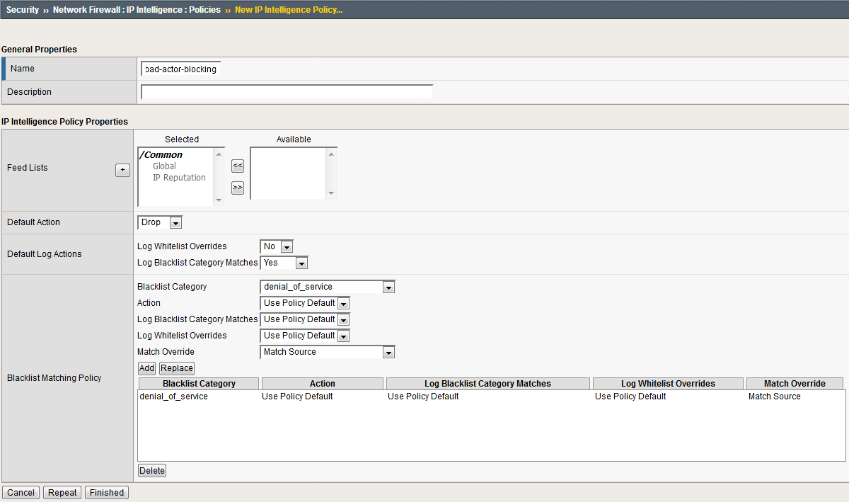 1 5 3  Changes to BIG-IQ User Interface