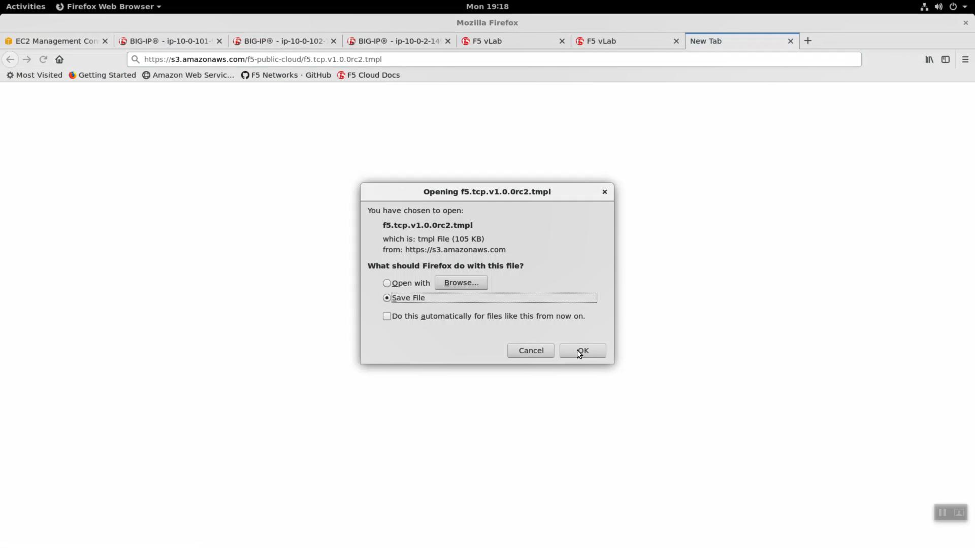 3 4 2  Deploy an AWS High-Availability-aware virtual server