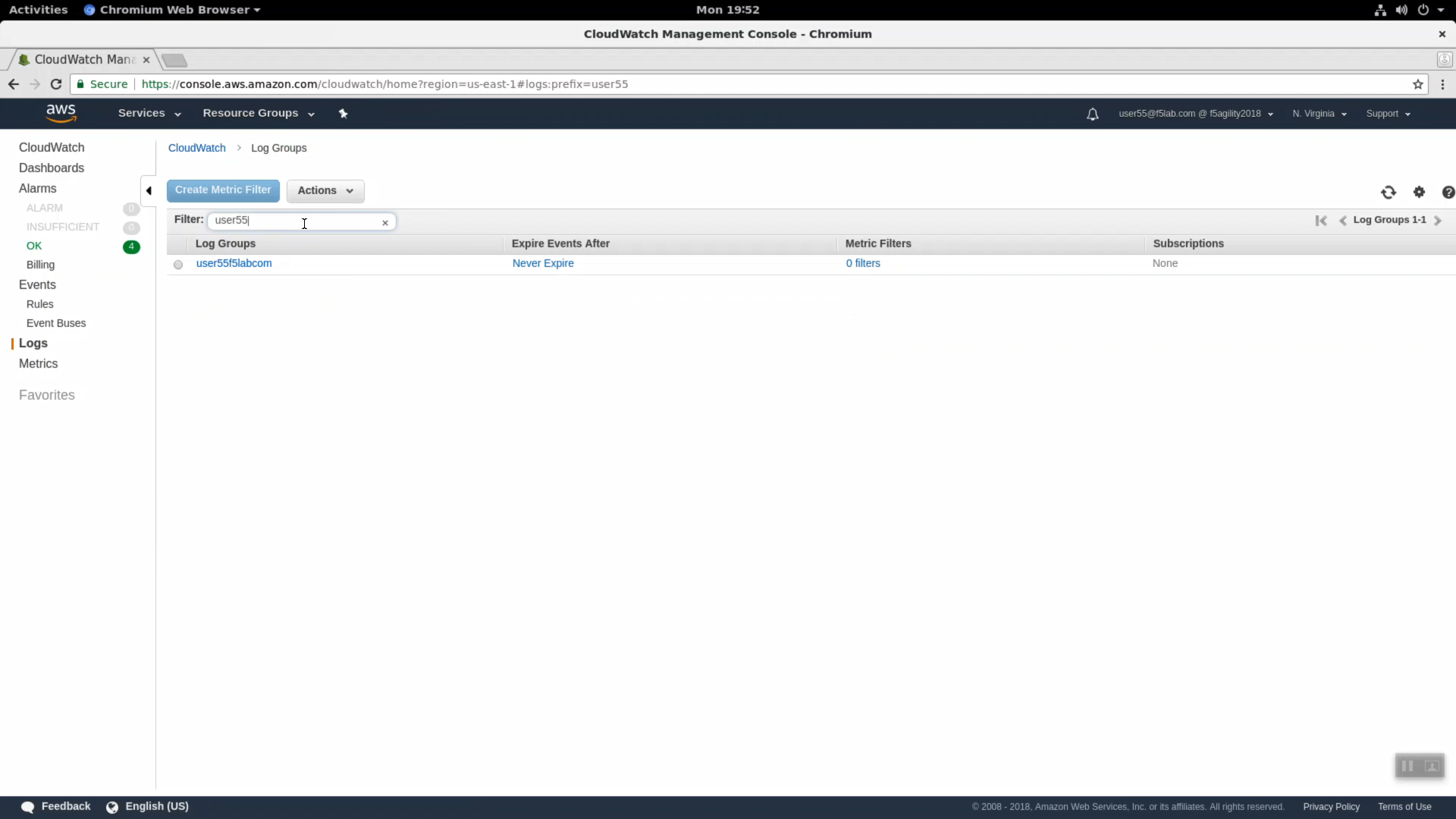 3 5 1  LTM Request Logging to CloudWatch