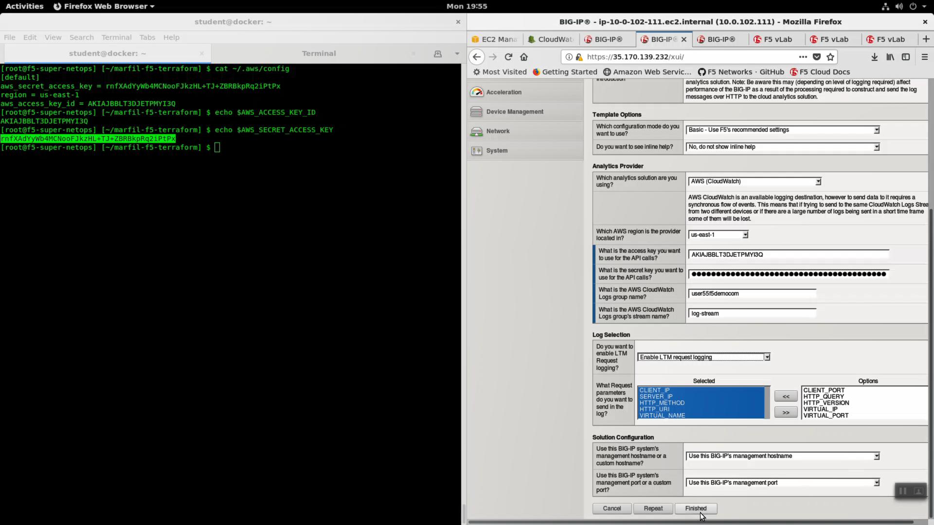 1 5 1  LTM Request Logging to CloudWatch